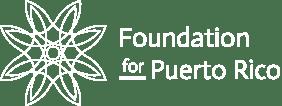 Fourndation for Puerto Rico Logo White